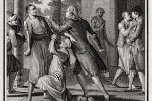 Candido, ovvero l'Ottimismo. Illustrazione per un'edizione del 1809