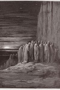 Canto XVIII Purgatorio di Dante