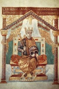 Miniatura di Carlo il Calvo