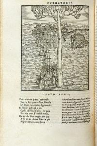 Illustrazione del canto 33 del Purgatorio