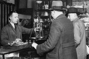 Peso dell'oro, 1932, dopo l'abolizione del Gold Standard