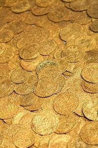Tesoro di Fishpool, monete d'oro medievali