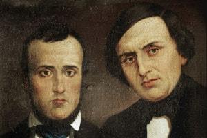 Ritratto dei fratelli Bandiera. Attilio (1811-1844) ed Emilio (1819-1844). Istituto per la Storia del Risorgimento Italiano, Roma