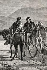 L'incontro tra Vittorio Emanuele II e Garibaldi, ottobre 1860