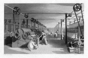 Fabbrica tessile del XIX secolo