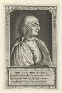 Giovanni Pontano, massimo esponente dell'umanesimo napoletano del '400