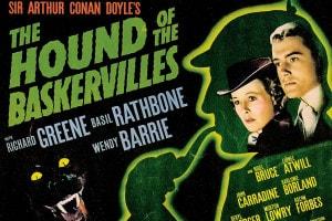 Locandina del film tratto dal romanzo di Arthur Conan Doyle
