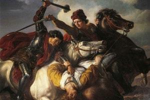 Farinata degli Uberti, condottiero ghibellino fiorentino del XIII secolo nella battaglia del Serchio