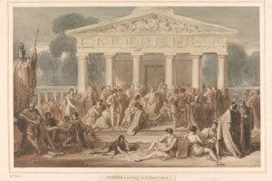 Insegnamento di Ipazia ad Alessandria d'Egitto