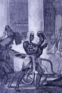 Uccisione di Ipazia nel 415 d. C. per mano dei seguaci del patriarca di Alessandria Cirillo
