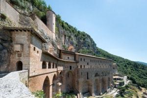Il monastero di San Benedetto da Norcia a Subiaco, Roma