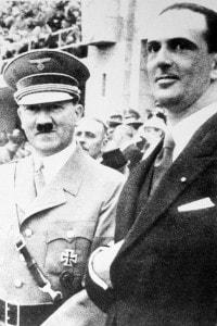 Adolf Hitler e Umberto II di Savoia