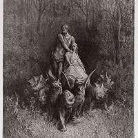 Canto XXXII del Purgatorio di Dante:  testo, parafrasi e spiegazione