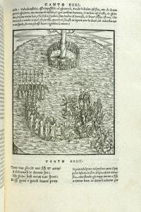Illustrazione dei canti 31 e 32 del Purgatorio di Dante