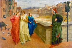 Dante e Beatrice a Firenze