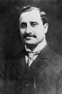 Benjamin Guggenheim, padre della collezionista d'arte Peggy, vittima milionaria dell'affondamento del Titanic nell'aprile del 1912
