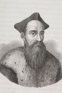 Ritratto di Giovanni della Casa, detto Monsignor Della Casa (1503-1556): studioso e arcivescovo cattolico italiano