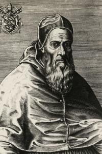 Ritratto di Giulio III, nato Giovanni Maria Ciocchi del Monte (Monte San Savino, 1487-Roma, 1555), Papa dal 1550