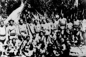 Partigiani abissini, guerra d'Etiopia (1935-36)