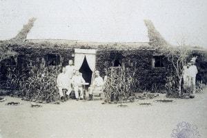 Le truppe italiane comandano l'accampamento in Eritrea, 1888 circa