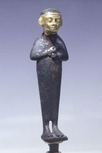 Statuetta religiosa della civiltà fenicia
