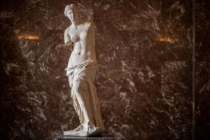 La Venere di Milo, di epoca ellenistica