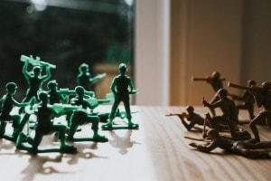 La guerra e la pace: tema svolto