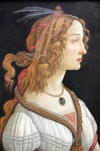 Simonetta Vespucci, ritratto di Sandro Botticelli