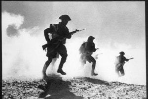 Battaglia di El Alamein, soldati dell'ottava armata del generale Montgomery, 1942