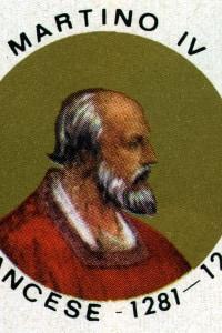 Martino IV (Simon de Brion, circa 1210-1285), papa dal 1281 al 1285