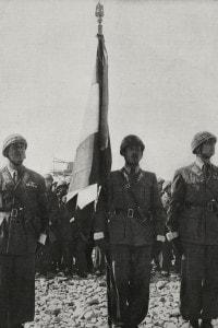 Cerimonia di consegna della bandiera dei paracadutisti Folgore alla divisione Nimbus, Firenze