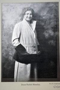 Donna Rachele Mussolini (11 aprile 1890 - 30 ottobre 1979), moglie del dittatore italiano Benito Mussolini