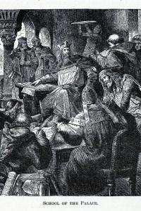 Schola palatina di Carlo Magno