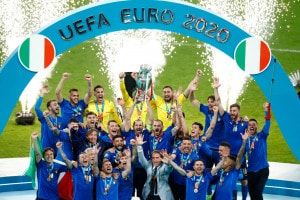 La vittoria degli italiani agli Europei 2020