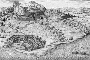 Gli accampamenti romani e cartaginesi di Erice, in Sicilia, durante la prima guerra punica tra Cartagine e Roma. 264-241 a.C.