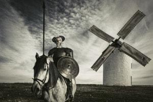Don Chisciotte, il duello con i mulini a vento: analisi e riassunto