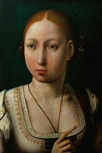 Giovanna la pazza (1473-1555), moglie di Filippo il Bello e figlia di Isabella di Castiglia e di Ferdinando II