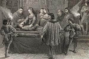 Giovanna la pazza e la morte di Filippo il bello
