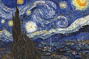 Notte stellata di Van Gogh: analisi