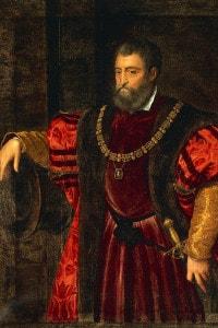 Ritratto di Alfonso I d'Este (1476-1534), duca di Ferrara, Modena e Reggio
