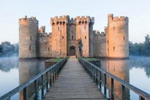 Castello di Bodiam nel Sussex