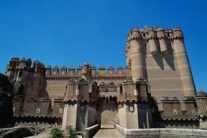 Castello di Coca in Spagna