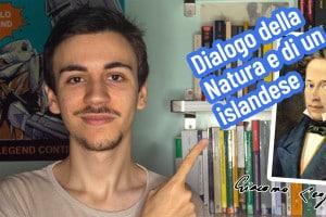 Dialogo della Natura e di un islandese, video a cura di Emanuele Bosi