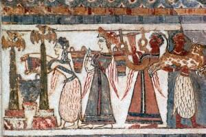 Sarcofago del museo di Heraklion