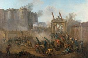 La Rivoluzione francese si può riassumere in tre fasi
