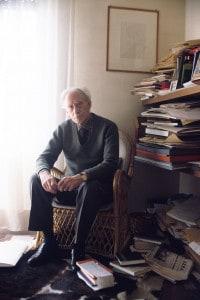 Mario Luzi rappresentante dell'ermetismo italiano del Novecento.