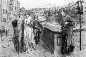 Incontro fra Dante e Beatrice