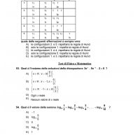 Soluzioni test medicina 2021 matematica e fisica