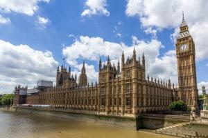 Camera dei Comuni e Palazzo di Westminster, Londra