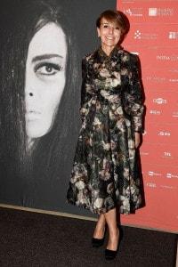 Patrizia Sandretto Re Rebaudengo posa per una foto durante la cerimonia di apertura della 37a edizione del Torino Film Festival